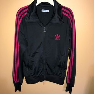 Original Adidas women's M jacket Black and pink